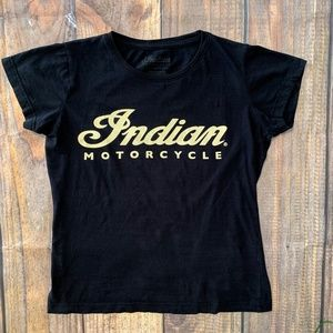NWOT Indian Motorcycles Lucky Brand Tee